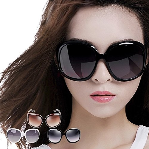 CZLUO Womens Designer Oversized Vintage Tortoise Frame Lens Retro Round Sunglasses Shades Eyeglasses Glasses SV002740 gifts Brown