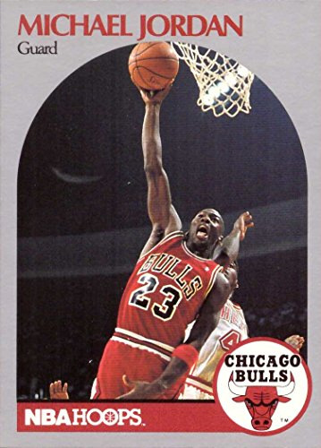 1990-91 NBA Hoops #65 Michael Jordan Basketball Card Chicago Bulls ()