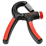 Grip Strengthener - Best Hand Exerciser for Increasing Hand Wrist Forearm and Finger Strength - Adjustable Resistance Range 22 to 88 Lbs - Ideal for Athletes Musicians and Hand Rehabilitation
