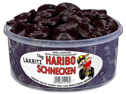 Haribo Lakritz-Schnecken/1506914 Inh.1kg