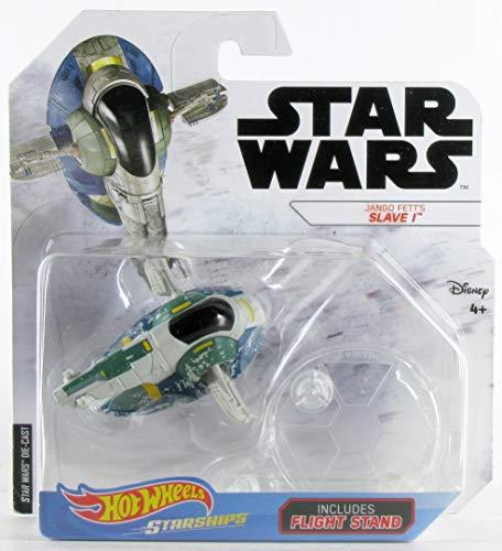Hot Wheels Star Wars Starships Jango Fett's Slave 1