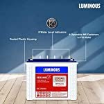 Luminous Red Charge RC 25000 200 Ah, Recyclable Tall Tubular Inverter Battery for Home, Office & Shops (Blue & White)
