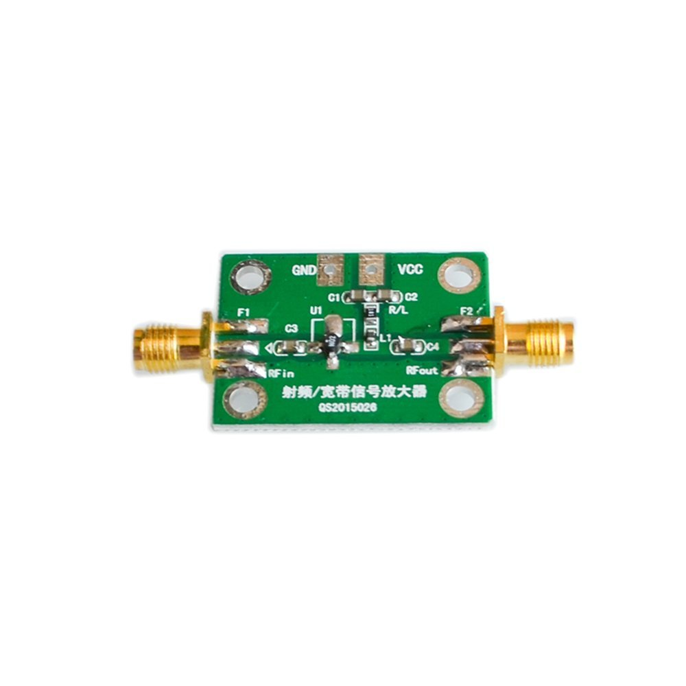 Amazon.com: 0.1-2000MHz RF wideband amplifier gain 30dB low-noise amplifier LNA: Computers & Accessories