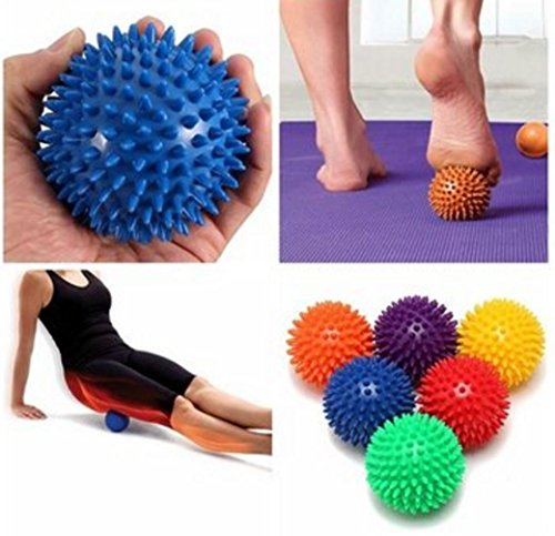 Spiky Acupoint Trigger Point Stimulating Stress Relief Yoga Massage Ball by - Foot Massager Points Medi