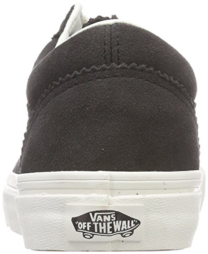 Unique Old Bleu Pinked Noir Running de Chaussures Taille Vans Suede Femme Skool YdqY8