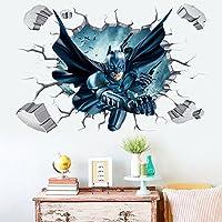 Batman Through-Wall Stickers With Decor Decal Art...