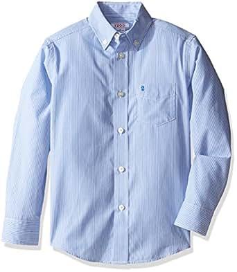 Izod Kids Big Boys 39 Blue Stripe Shirt Clothing