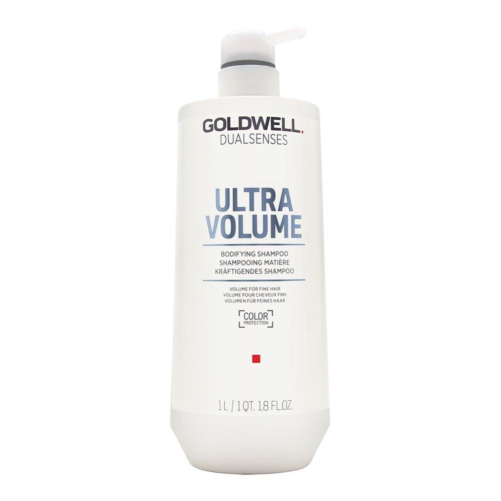 Goldwell Dualsenses Ultra Volume Bodifying Shampoo, 1er Pack (1 x 1 l) 4021609029281