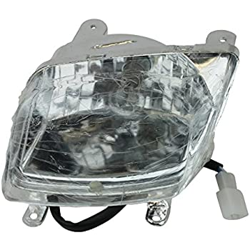 headlight assembly panther atv quad gy6 110rx2. Black Bedroom Furniture Sets. Home Design Ideas