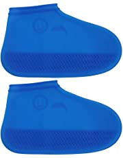 Wiederverwendbare Mädchen Jungen Regen Schuh Deckt Niedlichen Cartoon Wasserdichte Schutz Schuhe Genießen Spielen Im Freien Schuh Abdeckung Schuhzubehör
