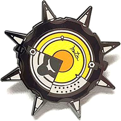 pinupper Rip Neumáticos Spinning Esmalte Pin - Negro - 3 cm ...