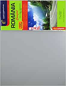 Romania Comfort Road Map Cartographia 9789633525623 Amazon Com