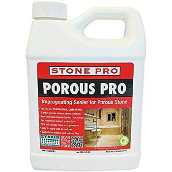 Amazon Com Stone Pro Porous Pro Impregnating Sealer For