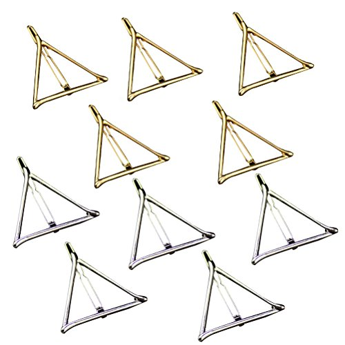 Tinksky Triangle Geometric Hairpin Accessories