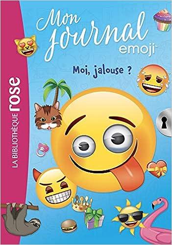 Amazon Fr Emoji Tm Mon Journal 01 Moi Jalouse
