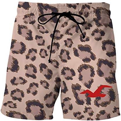 HKXR 水着ボードショーツ女性&メンズボードショーツバミューダサーフ水泳パンツ水泳パンツビーチスポーツのスーツクイックドライショート (色 : DK 34, サイズ : Asian size XL)