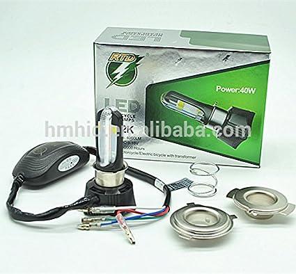 Sans LED Motorcycle Headlight Headlamps for Yamaha Mio i 125 Store  Philippines (Black, Medium)