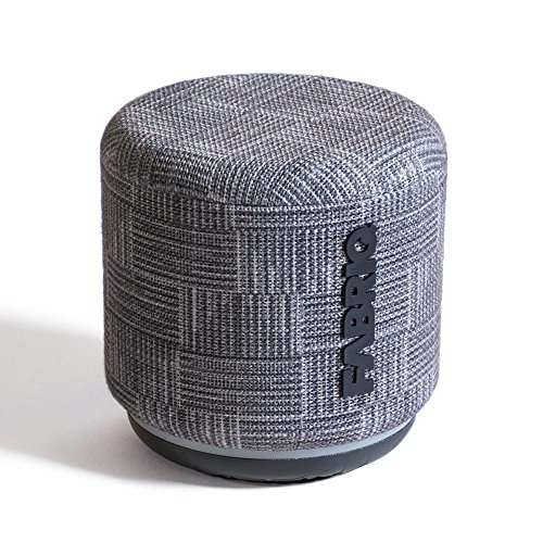 Portable WiFi and Bluetooth Smart Speaker with Amazon Alexa by FABRIQ: Wireless Connectivity with Stereo Pairing for Multi-Room Sound