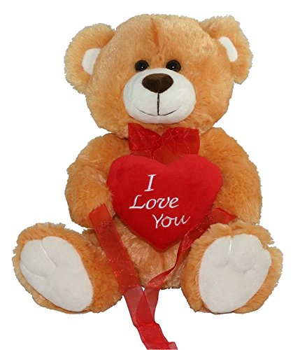 Love YOU Teddy Bear Soft Plush Valentines Day Gift - 12