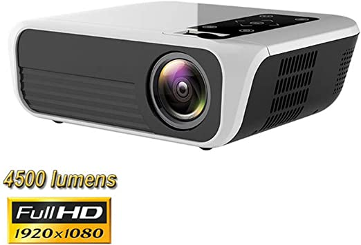QLPP Proyector, proyector LED nativa 1080P 4500 Lux Video Full HD ...