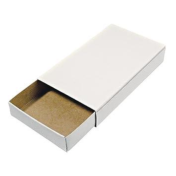 Rayher Hobby 8147000 Cajas de cerillas (tamaño Grande, en Blanco, vacías, Color