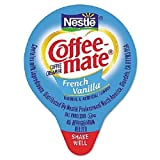 NESTLE COFFEE-MATE Coffee Creamer, French Vanilla, liquid creamer singles, Pack of 180 (2 Pack)