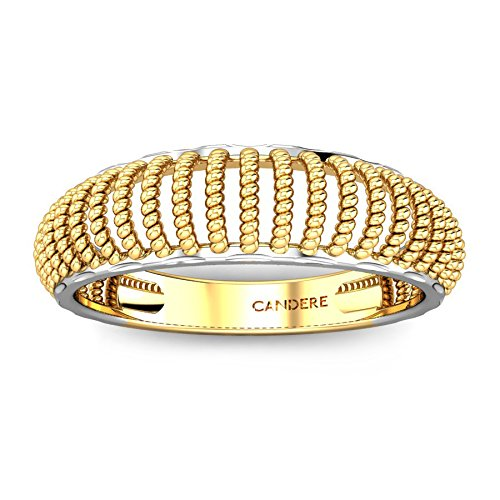 Buy Candere By Kalyan Jewellers Yellow Gold Ring for Women Online at