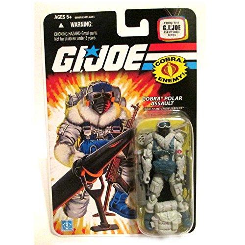 (G.I. JOE Cobra Snow Serpent Polar Assualt Soldier Wave 9 3 3/4
