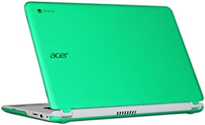 "iPearl mCover Hard Shell Case for 15.6"" Acer Chromebook 15 C910 / CB5-571 / CB3-531 / CB3-532 Series Laptop (Green)"