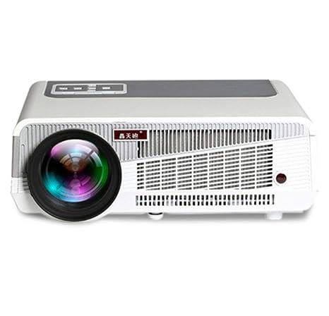 ZXC Proyector inalámbrico WiFi HD 1080P Proyector Ahorro de ...
