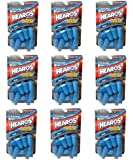 Hearos Ear Plugs Xtreme Protection, 14-Pair Foam Pack of 9 (33 NNR) New Super Size Package 126 Pairs