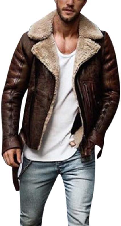 veste aviateur simili cuir homme