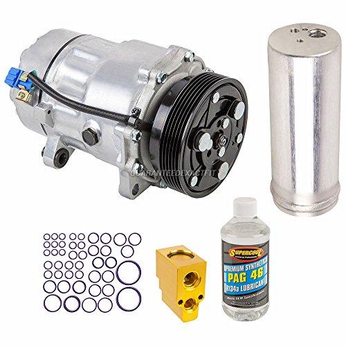 AC Compressor w/A/C Repair Kit For VW Golf & Audi TT Quattro TT - BuyAutoParts 60-80107RK New