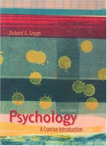 Psychology : A Concise Introduction 2ND EDITION