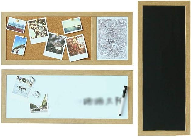 LIANGJUN Pizarra Tablero Mensaje Recordatorios Tablero De Corcho Pizarra Sencillo Magnético Cocina Restaurante, Juego De 3 Piezas (Color : 3-Piece Set, Tamaño : 60x1.5x24cm): Amazon.es: Hogar