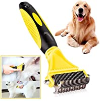 MASKOTA Pet Deshedding Dematting Self-Cleaning Slicker and Rack Grooming Tools for Dogs and Cats