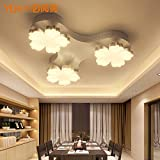 YPOSION Read the lit bedroom ceiling light living room art dome lamp creative personality aisle LAMP LED small... deal 2017