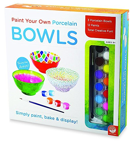 (MindWare Paint Your Own Porcelain: (Bowls))