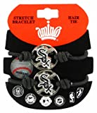 MLB Chicago White Sox Stretch Bracelet & Hair Tie, 2-Pack