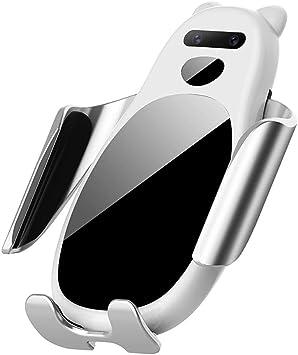 HMHD Cargador InaláMbrico Coche, Carga Rapida Magnetico Soporte para Coche MóVil Smartphone, para iPhone X/XS/XR/8,Samsung S10/S9/S8 /S7: Amazon.es: Coche y moto