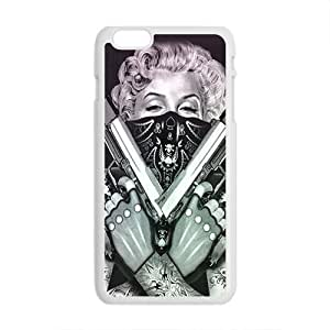 Happy Marilyn guns Case Cover for iphone 5 5s Case