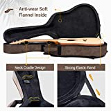 CAHAYA Acoustic Guitar Case Hard Case with Neck
