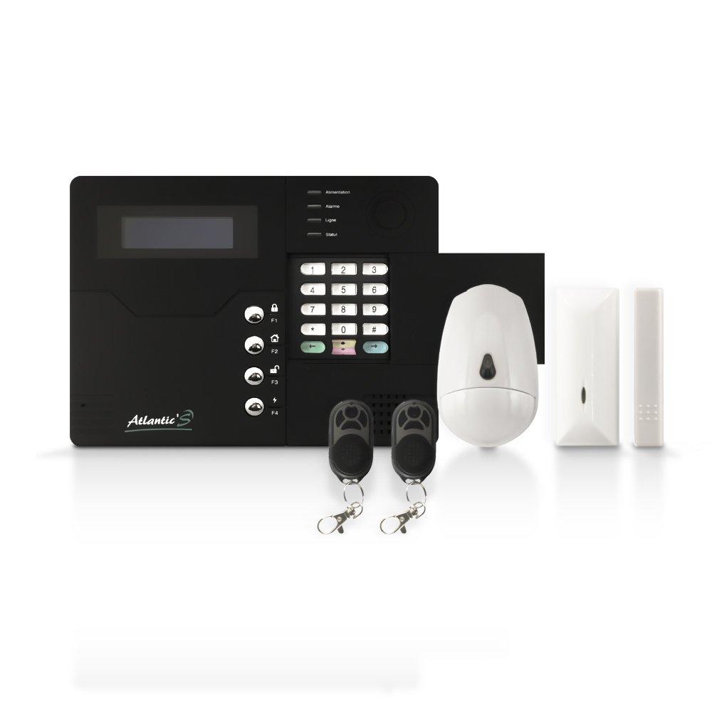 Alarme maison sans fil sans abonnement detecteur for Alarme maison haut de gamme