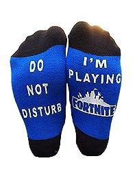 EPIC SOCKS - Do Not Disturb - I'm Playing For nite Novelty socks - Boys gifts
