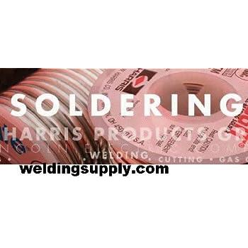 Harris 60R61 60/40 Rosin Core Lead Solder, 1/8