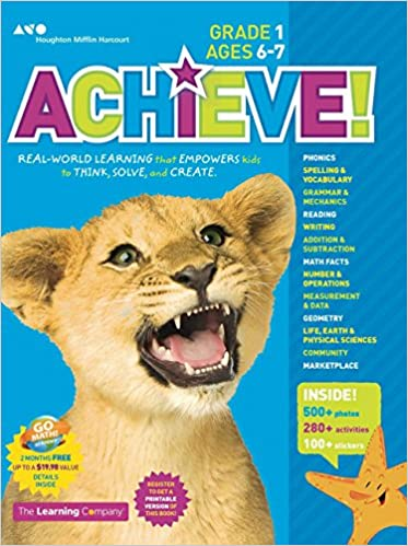 Achieve! Grade 1: Think. Play. Achieve!: The Learning Company ...