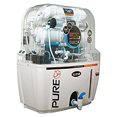 Ruby Economical Ro+ Uv+Tds Controller Multi Stage Water Purifier 8