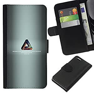 """A-type (Triángulo de la galaxia"""") Colorida Impresión Funda Cuero Monedero Caja Bolsa Cubierta Caja Piel Card Slots Para Apple iPhone 5C"""