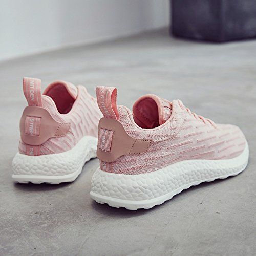 Thirty-eight,rose Female models GUNAINDMX  chaussures Sports Décontracté chaussures chaussures nouveau All-Match .