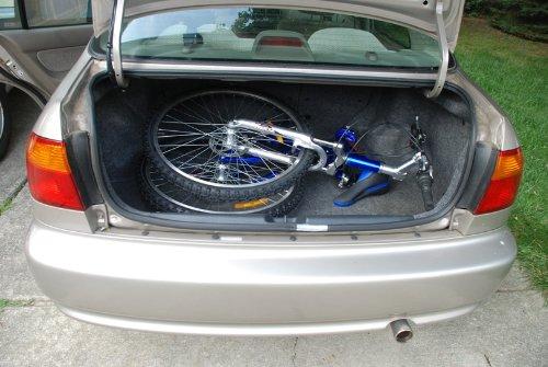 Columba 26'' Folding Bike w. Shimano 18 Speed Blue (SP26S_BLU) by Columba (Image #8)